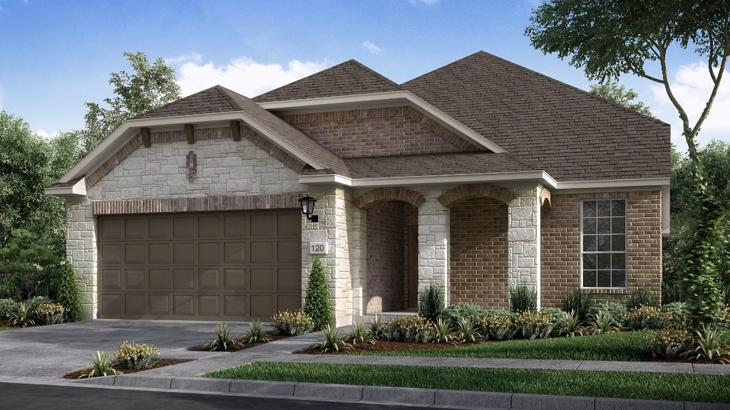 Driftwood Floor Plan at Sweetwater | 2,161 Sq. Ft. | 3 Bedrooms | 3 Baths | 2 Garage | 1 Story