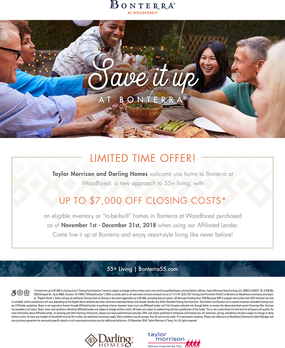 UP TO $7,000 OFF CLOSING COSTS*