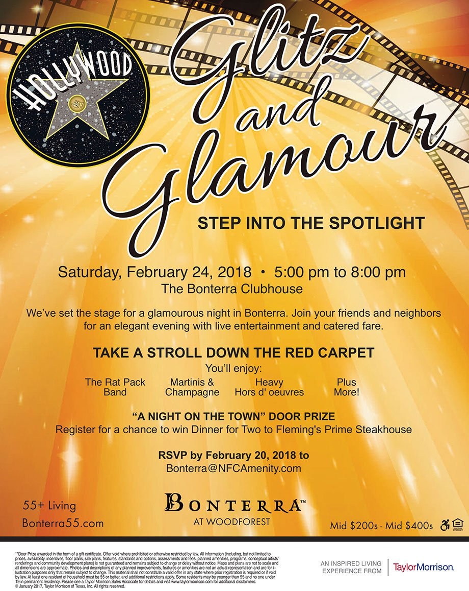 Glitz and Glamour Event