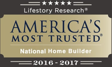 America's Most Trusted Home Builder**