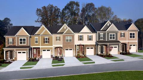 Townes at Woodcreek | Raleigh Homes