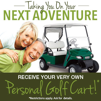 Receive Your Very Own Golf Cart